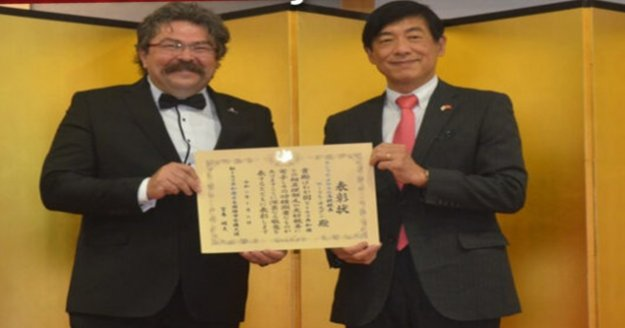 Japon Hükümeti'nden Alanya'ya ödül