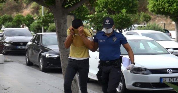 Kapalı çarşı esnafını bezdiren hırsızlar yakalandı