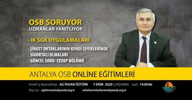 OSB 2.dönem online eğitim programları başladı