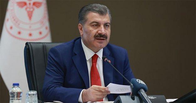 Sağlık Bakanı Koca: Buralardaki artış Türkiye için bir risk'
