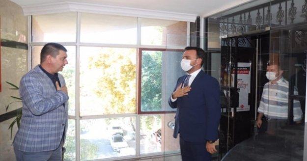 Toklu#039;dan Türkdoğan#039;a hayırlı olsun ziyareti