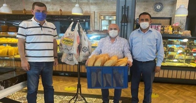 Türkdoğan'dan fırınlara ziyaret!
