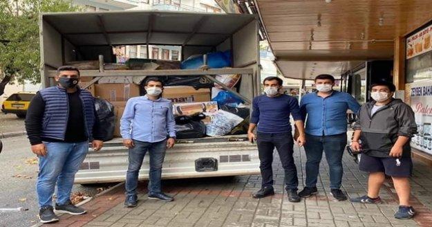 Alanya CHP Gençlik'ten İzmir'e destek