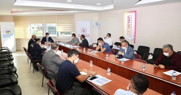 Alanya'da İlçe Spor Güvenlik toplantısı yapıldı