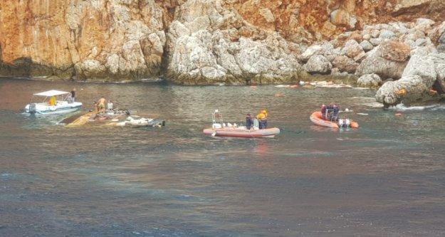 Alanya'da tur teknesinde ölen yolcuya ulaşıldı