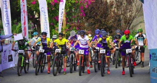 Alanya'da Uluslararası Dağ Bisiklet Yarışları yapıldı