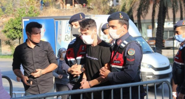Alanya'daki cinayetin zanlısı adliyeye getirildi
