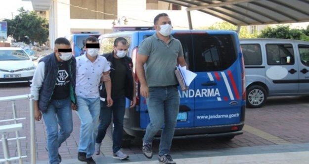 Alanya'daki uyuşturucu operasyonunda 2 tutuklama