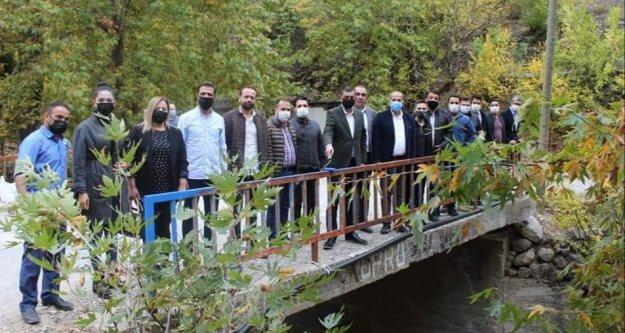 Alanya MHP'den Bozkurt Köprüsü'ne bakım
