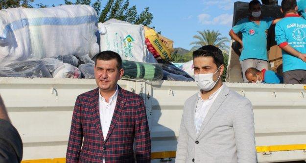 Alanya MHP'den İzmire destek