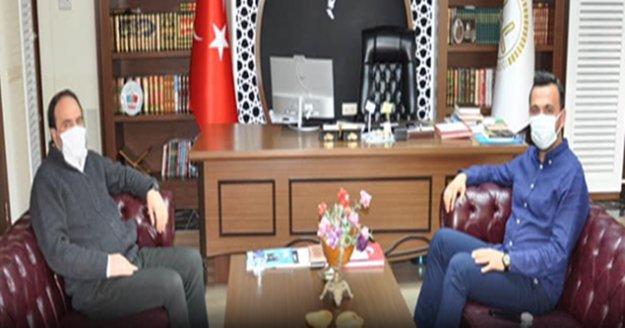Başkan Toklu'dan Alanya Müftüsü İlhan'a ziyaret
