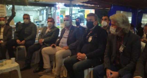 CHP İl Başkanı Bayar'dan Aras için taziye ziyareti