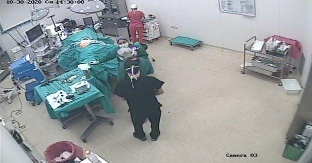 Depreme ameliyatta yakalandılar