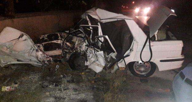 Feci kazada 3 ölü, 2 yaralı var