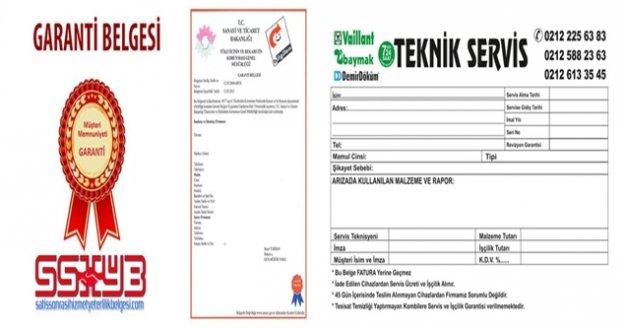 """Garanti belgeleri ve servis fişlerinde """"elektronik"""" dönem"""