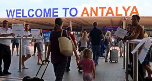 İşte 10 ayda Antalya'nın ağırladığı turist sayısı