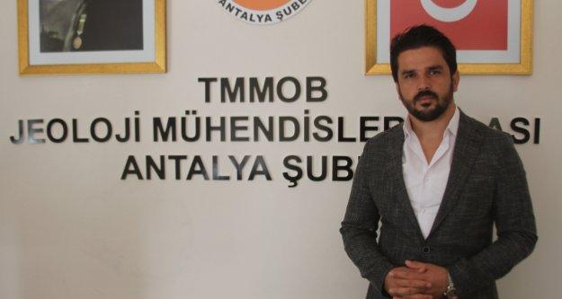 Jeoloji Mühendisleri Odası'ndan Antalya ve ilçeleri için önemli uyarı