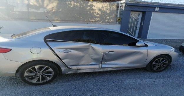Trafik kazasında 3 ve 8 yaşındaki kardeşler yaralandı