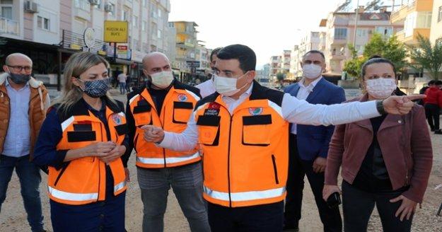 """Tütüncü: 'Kültür Kafeler Caddesi prestijli caddeye dönüştürülecek"""""""