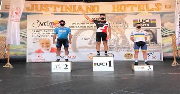 Uluslararası dağ bisiklet yarışları yapıldı