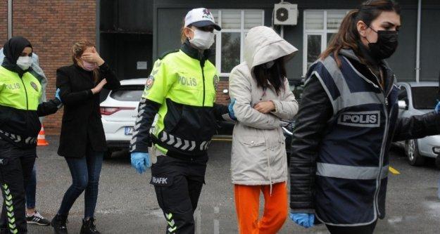 Yabancı uyruklu kadınlara zorla fuhuş operasyonu: 16 gözaltı