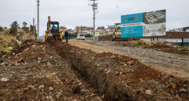 Alanya Belediyesi ile Konaklı'nın çehresi değişiyor