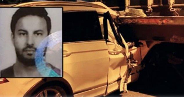 Alanya'da feci kaza: 1 ölü var
