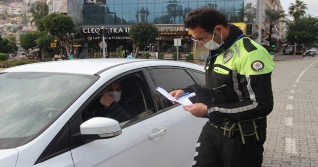 Alanya'da polisten aralıksız denetim
