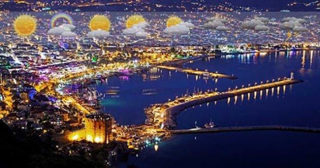 Antalya yarından itibaren ısınıyor