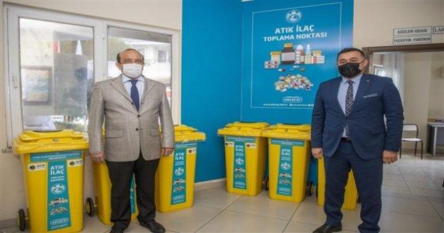 Atık ilaçlar Alanya Belediyesi ile güvenle imha edilecek