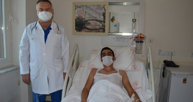 Bu ameliyat Alanya ALKÜ EAH'nde ilk kez yapıldı