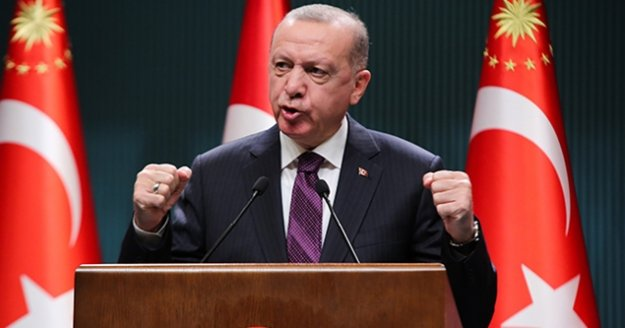 """Cumhurbaşkanı Erdoğan'dan önemli açıklamalar! """"Yüz yüze eğitime verdiğimiz arayı 15 Şubat 2021'e kadar uzatıyoruz"""""""