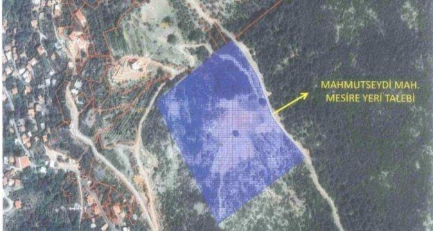 Hamdullah Emin Paşa'nın arazisi mesire alanı oluyor