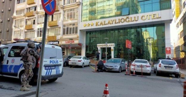 Kahramanmaraş'ta otelde silahlı saldırı! 1 polis şehit