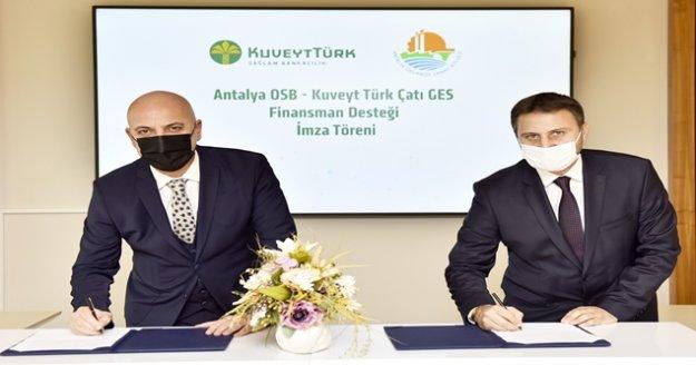 OSB Sanayicisine GES için özel finansman desteği