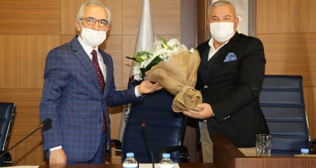 Şahin'e plan ve bütçe komisyonundan teşekkür