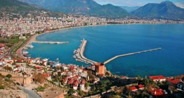 Türkiye'nin lideri Antalya, Antalya'nın lideri Alanya oldu