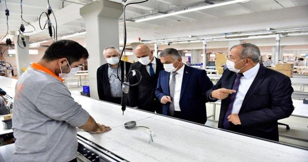 Vali Yazıcı'dan Antalya OSB sanayicilerine  ziyaret