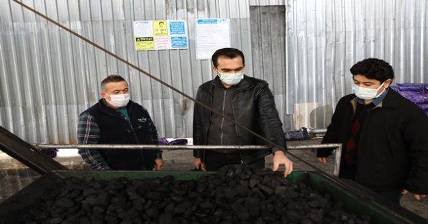 270 noktada 16 bin ton kömür denetlendi