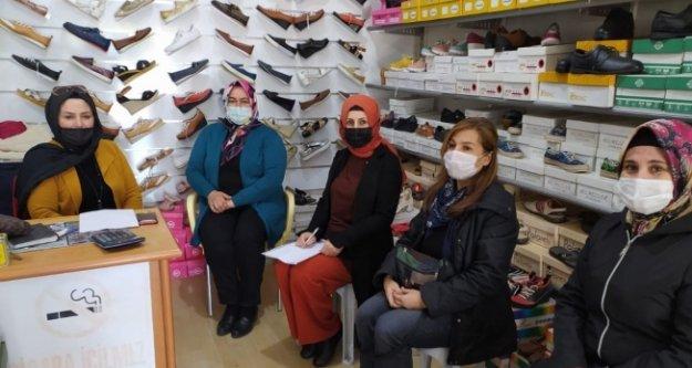 AK Kadınlar Alanya'da ziyaret turunda