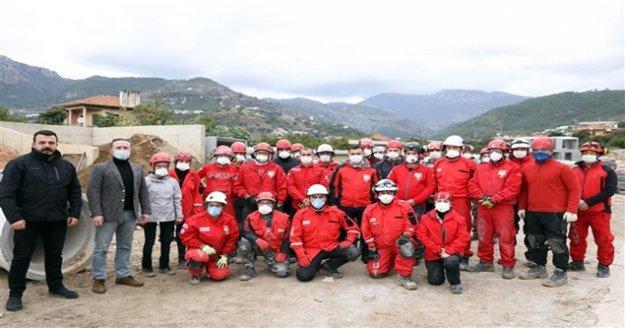 Alanya Belediyesi ve AKUT  afetler için gönüllü ekipler yetiştiriyor!