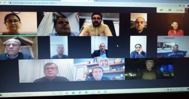 Alanya CHP yönetimi canlı toplantılara devam ediyor