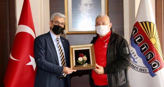Alanya'da 400 bin maske işbirliği