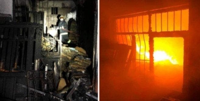 Alanya'da gazetecinin evi kundaklandı