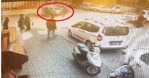 Alanya'da motosiklet sürücünün çarptığı yaşlı adam hastanelik oldu