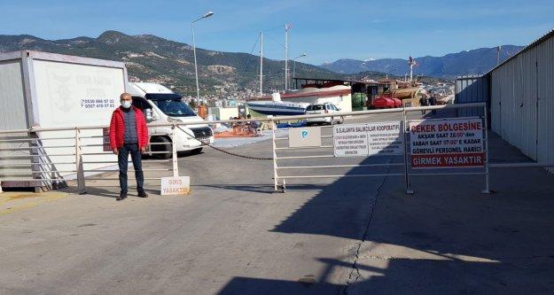 Alanya'daki o bölge araç trafiğine kapatıldı