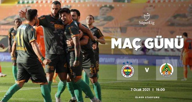 Alanyaspor, Fenerbahçe'ye konuk oluyor