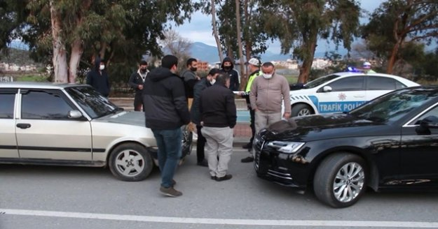 Alkollü otomobil sürücüsü kazayı inkar etti, 8 bin TL ceza yedi