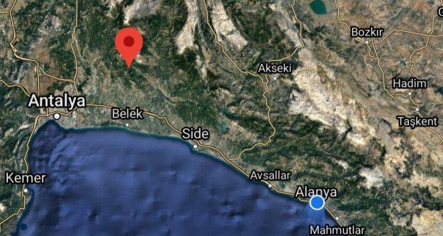Antalya'da korkutan deprem! Alanya'da da hissedildi