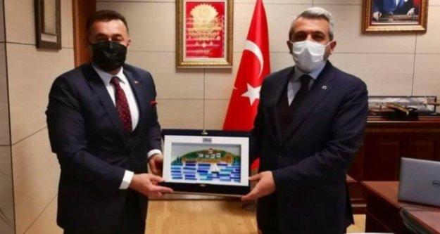 Başkan Yücel Ankara'da